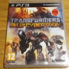 PS3 Transformers fall of Cybertron - joc original by WADDER