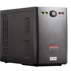 Lestar UPS S-1050 1000VA/600W AVR 6xIEC USB RJ 45