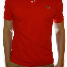 Tricou Lacoste - Tricou alb  tricou barbat tricou rosu tricou barbat cod 76