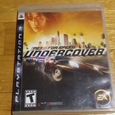 PS3 Need for speed Undercover - joc original by WADDER - Jocuri PS3 Electronic Arts, Curse auto-moto, 12+, Single player