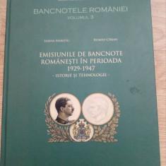 Bancnotele Romaniei - vol.3 - Emisiunile de bancnote romanesti 1929-1947 - Bancnota romaneasca