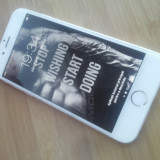 iPhone 6 Apple 16GB Silver Alb Neverlocked, Argintiu, Neblocat