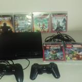 Vand PS3 + 6 jocuri