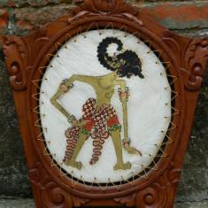 Arta africana - ZEU african - piele si lemn - Arta din Africa