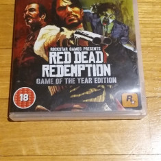 PS3 Red dead redemption Game of the year edition - joc original by WADDER - Jocuri PS3 Rockstar Games, Actiune, 18+, Single player