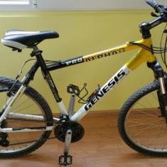 Bicigleta Genesis Alpha Pro - Mountain Bike Nespecificat, 26 inch, Numar viteze: 24