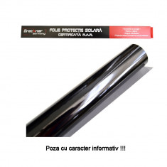 Folie auto pentru geamuri Omologata RAR Super Dark Black, transparenta 5%, latime 50 cm, lungime 3 metri