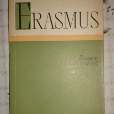 Despre razboi si pace an 1960/153pag- Erasmus - Filosofie
