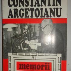 ARGETOIANU = MEMORII VOL.6/AN 1996/358PAGINI - Istorie