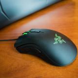 Mouse gaming RAZER DeathAdder Elite, negru, nou, RGB