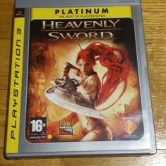 PS3 Heavenly sword Platinum- joc original by WADDER - Jocuri PS3 Sony, Actiune, 16+, Single player