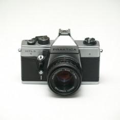 Praktica MTL5 + Pentacon 50mm 1.8 - Aparat Foto cu Film Praktica