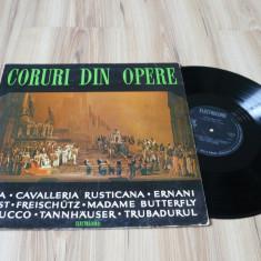 Corul Radioteleviziunii – Coruri Din Opere (vinil muzica clasica)