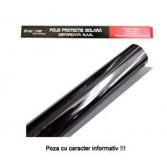 Folie auto pentru geamuri Omologata RAR Super Dark Black, cu strat antizgariere, transparenta 5%, latime 75 cm, lungime 4 metri