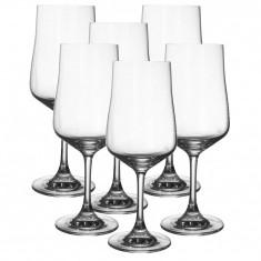Set 6 pahare Cuvée de cristal, Pasabahce, 330 ml
