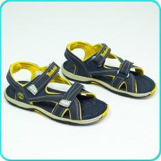 DE FIRMA → Sandale comode, aerisite, practice, TIMBERLAND → baieti, fete | nr 35 - Sandale copii Timberland, Culoare: Bleumarin, Unisex, Piele naturala
