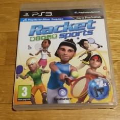 PS3 Racket sports / MOVE obligatoriu - joc original by WADDER - Jocuri PS3 Ubisoft, Sporturi, 3+, Multiplayer