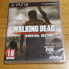 PS3 The walking dead survival instinct - joc original by WADDER - Jocuri PS3 Activision, Actiune, 18+, Single player