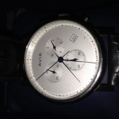 Ceas Avia Quartz Cronograph cu Data Editie Limitata - Ceas barbatesc Aviator