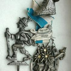 Medalie, placheta si medalion, tematica Alpinism