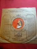 Disc His Master's Voice - Bohema - Puccini ,voce Selma Kurz  ,interbelic