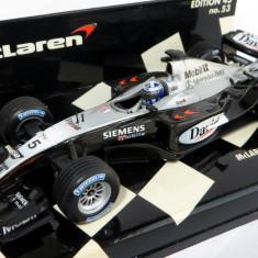Minichamps F1 McLaren Mercedes MP4-18 showcar D Coulthard 2003 1:43 - Macheta auto Hot Wheels