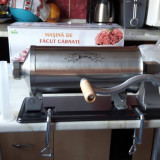 Carnatar presa de 4 kg , masina de facut carnati