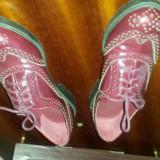 Pantofi marimea 35, pret modic - Pantof dama, Culoare: Visiniu