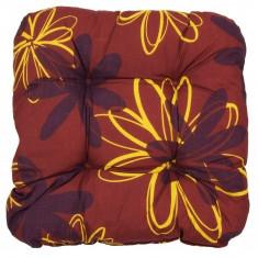 Pernuta de scaun cu flori, Sun Garden, Rosu - Scaune auto