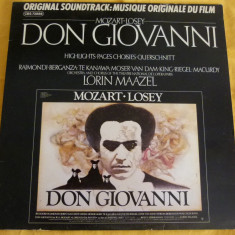 Don Giovanni - losey - Muzica soundtrack Altele, VINIL