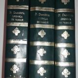 PETRU DUMITRIU - CRONICA DE FAMILIE Vol.1.2.3., An.1956 - Roman