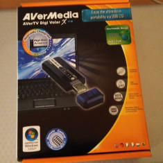 TV-TUNER USB STICK AVERMEDIA DIGI VOLAR X A815 - TV-Tuner PC Avermedia, Extern (necesita PC)
