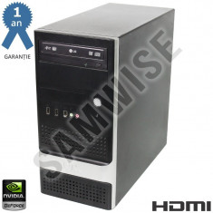 Calculator Intel Quad Core E5440 2.83GHz 4GB DDR3 500GB GT610 1GB DDR3 HDMI 600W - Sisteme desktop fara monitor, Intel Core 2 Quad, 2501-3000Mhz, 200-499 GB, LGA775