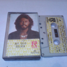 CASETA AUDIO BEE GEES-GOLDEN FOARTE RARA!!!!!MADE IN SIRIA 1980 ORIGINALA