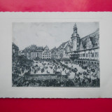 HOPCT 28682 GERMANIA REICH -LEIPZIG PRIMARIA SI PIATA CENTRALA -NECIRCULATA, Printata