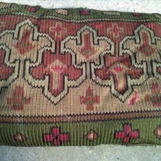 Veche perna chilim / kilim cusuta manual - Fata De Perna Antichitati