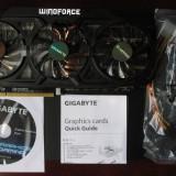 Vand placa video GIGABYTE GeForce GTX 770 OC WindForce 3X 2GB