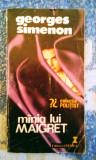 Georges Simenon - Mânia lui Maigret , 140 pagini, 10 lei