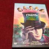 FILM DVD CHARLIE SI FABRICA DE CIOCOLATA - Film SF, Romana