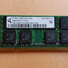 LOT 10 BUCATI Memorie Laptop Infineon Sodimm DDR2 1 GB 666 Mhz PC2-5300 - Memorie RAM laptop Infineon, 667 mhz