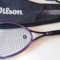 Racheta tenis Wilson sledge hammer 3.8, 95 sq, 4 3/8 + Husa - Racheta tenis de camp Wilson, SemiPro, Adulti
