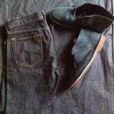 J.Crew Pantofi de vara + Blugi J.CREW originali - Camasa barbati KR3W, Marime: 43, Culoare: Bleu