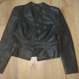 Jacheta dama tip sacou din piele eco - Geaca dama Vero Moda, Marime: L/XL, Culoare: Din imagine