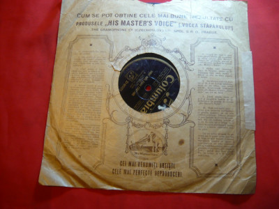 Disc vechi Columbia - Gh.Folescu - Inghetata-i Dunarea si Unde aud cucu cantand foto
