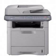 Imprimanta Copiator Fax Scan Samsung SCX 4833 FD Toner Plin, Factura, Garantie - Multifunctionala Samsung, DPI: 1200, USB