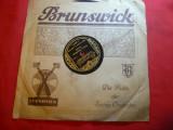 Disc interbelic Brunswick - Ritmul lui Tullio Mobiglia -Foxtrot