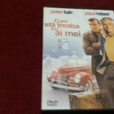 FILM DVD CUM STA TREABA CU AI MEI - Film comedie, Romana