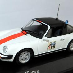 Minichamps Porsche 911 targa belgian police 1977 1:43 - Macheta auto Hot Wheels