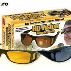 Ochelari pentru condus protectie UV HD Vision 2 buc noapte+zi