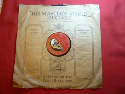 Disc vechi His Master's Voice -voce Michele Fleta-tenor - Ay,Ay Ay si Henchido.. foto